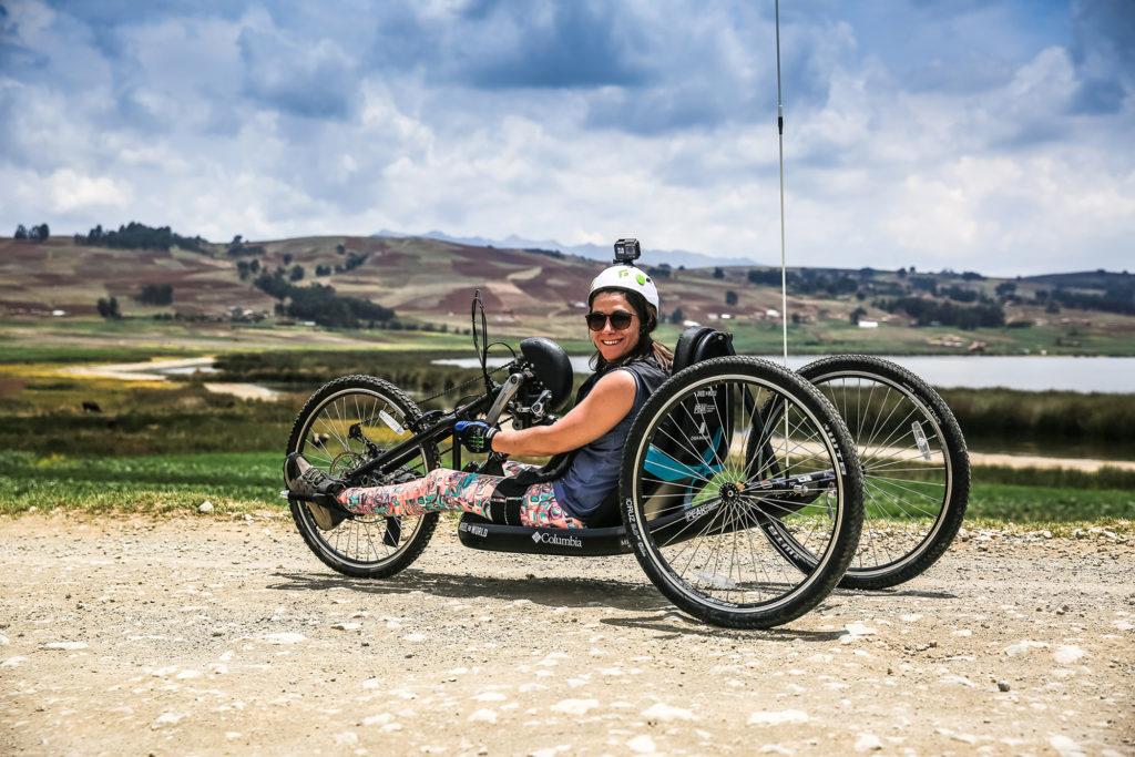 en destaque foto da cadeira de rodas especial