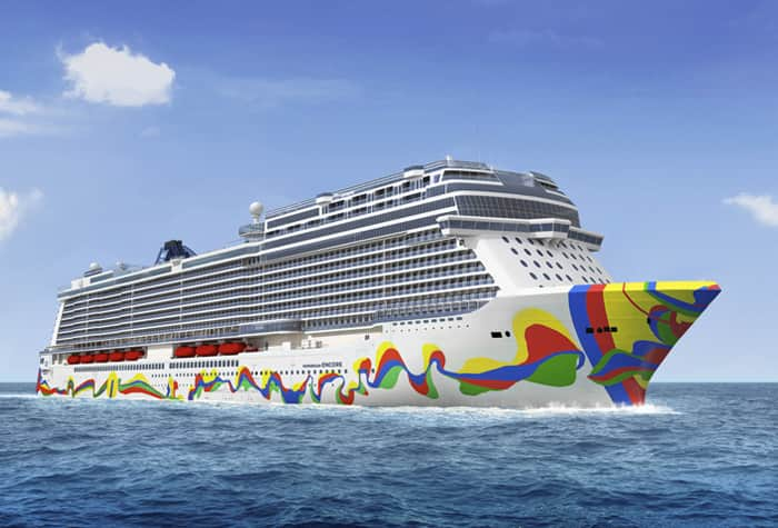 Navio Norwegian Encore