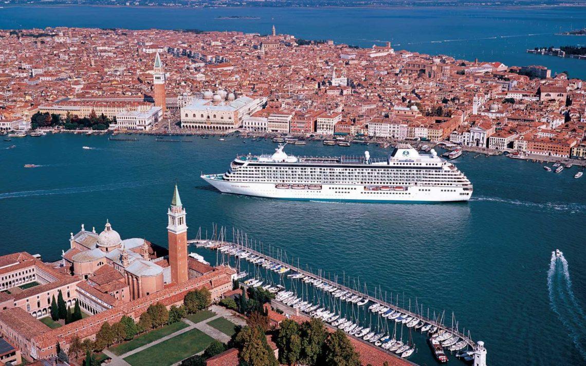 Crystal Serenity em Veneza