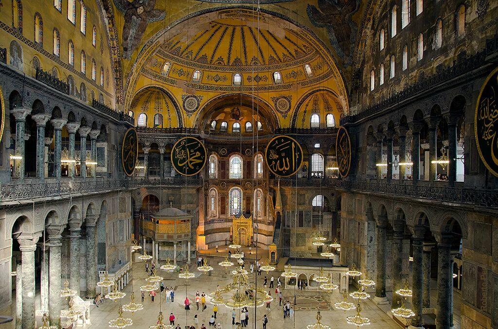interior Basilica de santa sofia