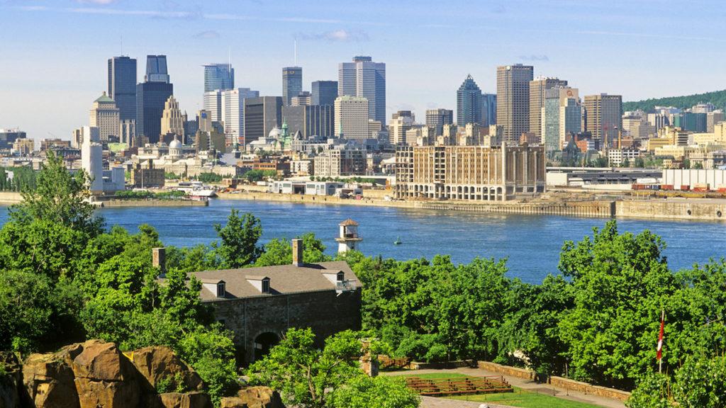 Foto panorâmica de Montreal