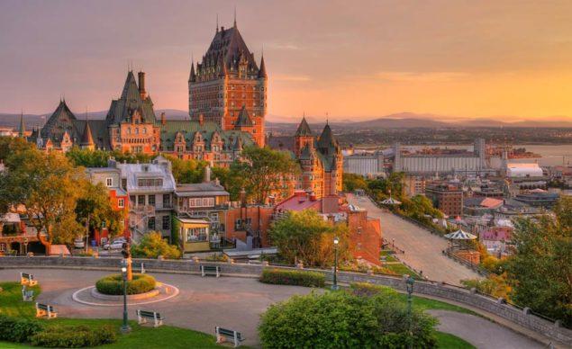 Foto panorâmica de Quebec