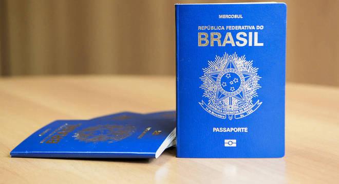 Capa do Passaporte do Brasil