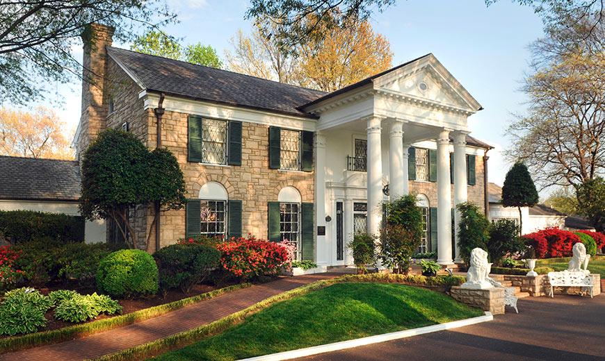 Graceland a casa do rei do rock Elvis Presley