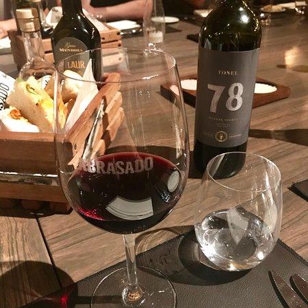 Taça de vinho escrito Abrasado
