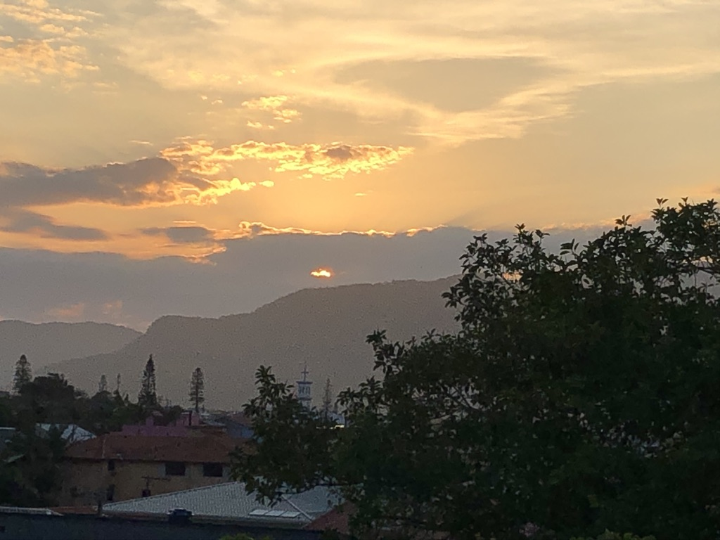 Pôr do Sol em Garopaba