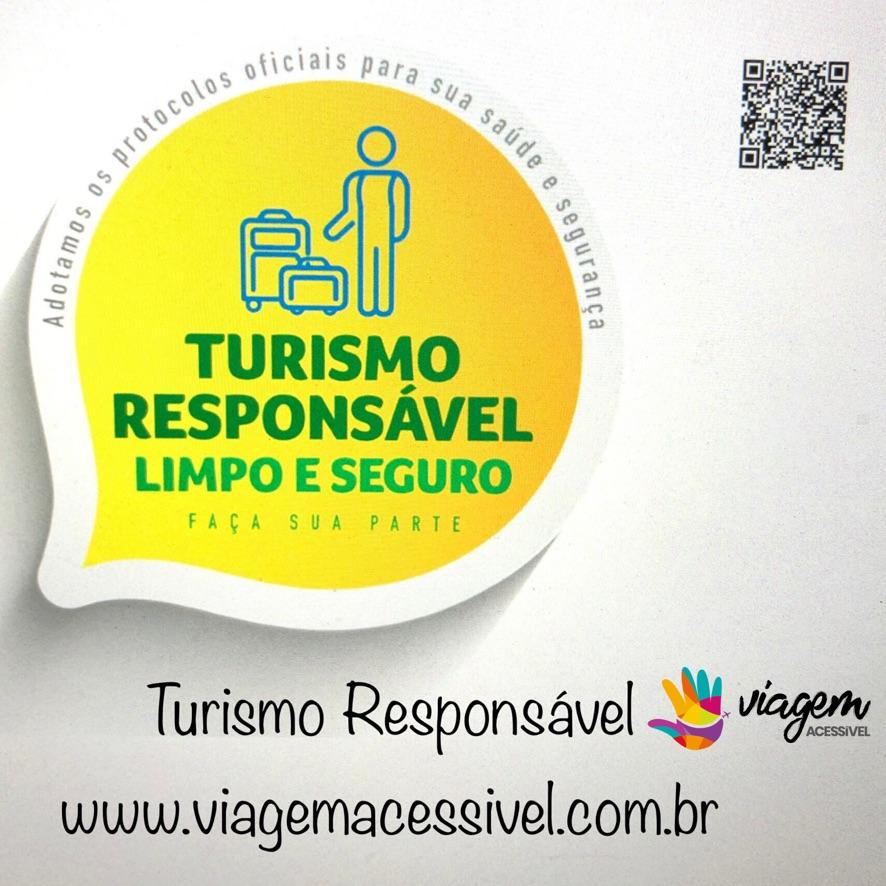Selo Turismo Responsável do Ministério do Turismo para a nossa agência