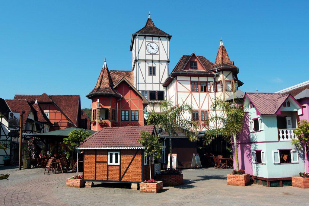 Alguns estabelecimentos da Cidade de Blumenau